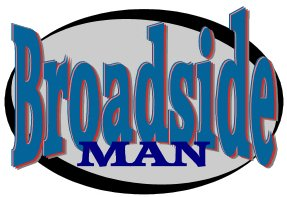 Logo Broadside man